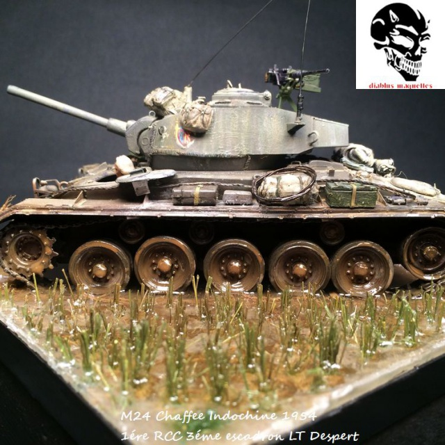 M24 Chaffee light tank, AFV Club 1/35 - Page 4 123474IMG3679