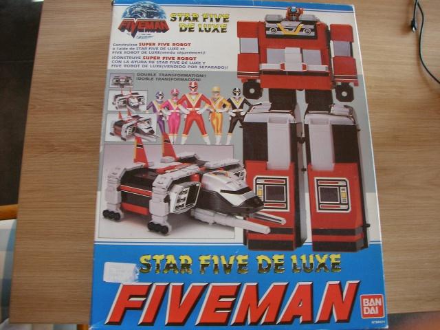 La gamme de jouets Fiveman - Bandai 125232SANY0007