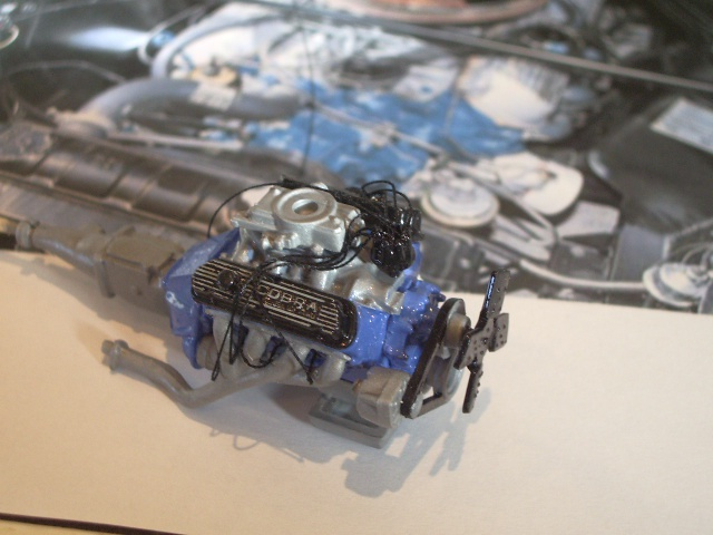 ford mustang GT 350 H au 1/24 126089photsmaquette350h006