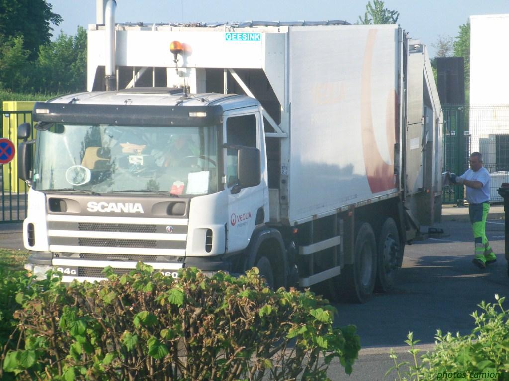 Les bennes a ordures ménagères. 1265441016463