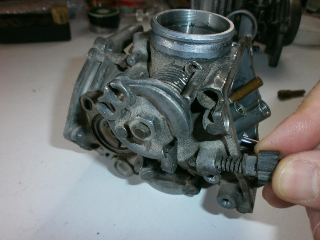 Nettoyage carburateurs de transalp 600 127214P1280002