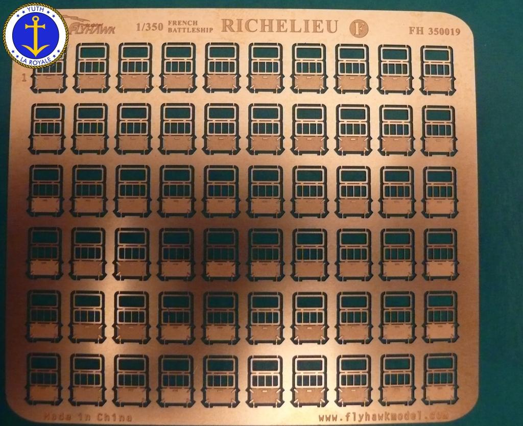 Set Richelieu 1/350 Super Detail FLYHAWK 127511Richelieuflyhawk014