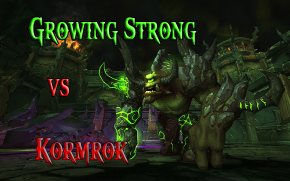 Kormrok vs Growing Strong ! 127799kormrok