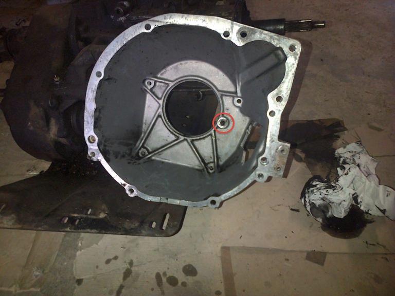 Swap moteur 2.1d -> 2.1 TD suite problème pivot embrayage 128608IMG2015032400795