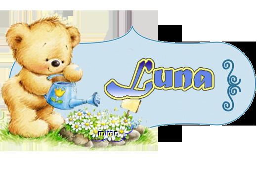 Nombres con L 128716Luna