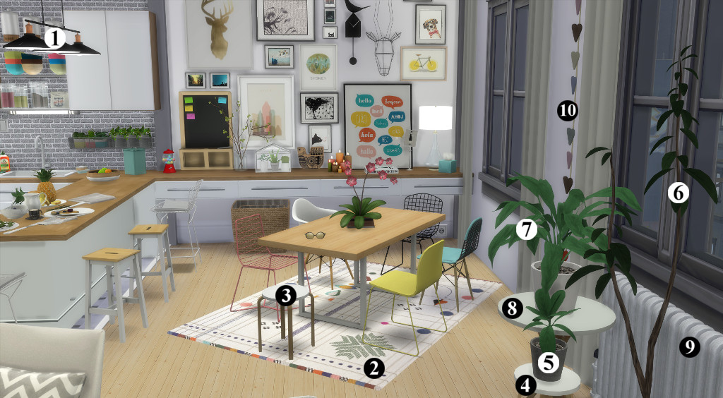 Appartement scandinave (let's build et téléchargement) 1297649en1024avecnumros