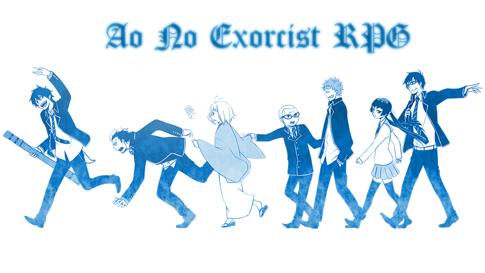Ao no Exorcist rpg