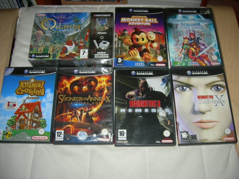 My collec ! Retro un jour.............. 130174GameCube2