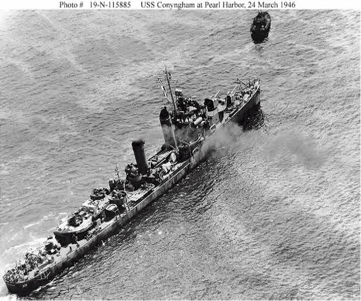 USN DESTROYERS CLASSE MAHAN 130516USSConyngham1946
