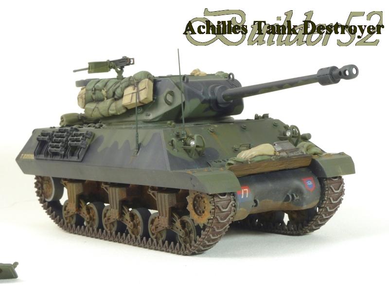 Achilles Tank Destroyer - Academy-Italeri + RB Model + set Blast 1/35 130660P1040528