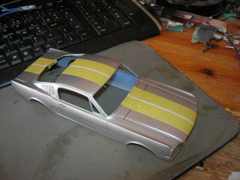 """Mustang Fastback""""65 Revell. 131223DSCN9953"""
