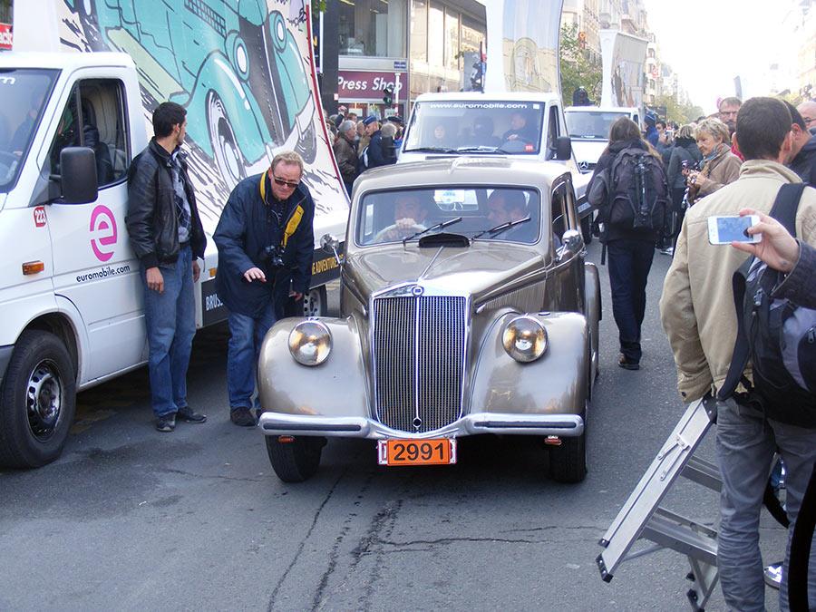 """Bruxelles côté BD  """"Tintin en automobile"""" 131427DSCF6180"""