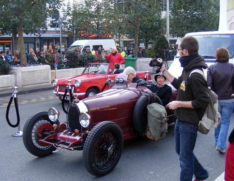 """Bruxelles côté BD  """"Tintin en automobile"""" 131569DSCF6140"""
