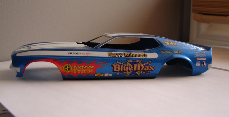 Blue Max Funny Car 132499bluemax007