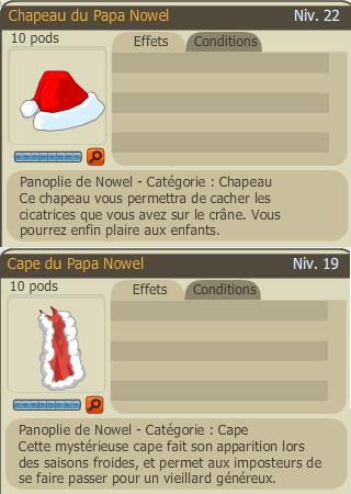 Chapeau&cape Nowel 2007 et caracape 133966papanowel