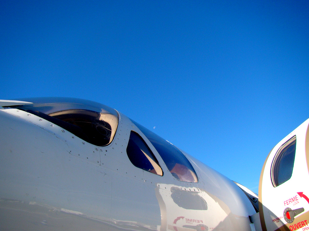 Vol en Cessna 550 CitationII , Cannes-Le Bourget 134314DSC03452