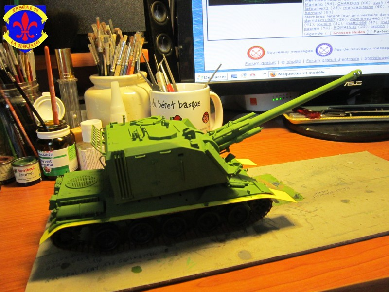 AMX 30 AUF1 au 1/35 d'Heller par Pascal 94 - Page 3 135393IMG16681