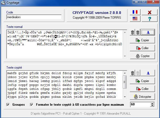 Cryptage - un petit utilitaire, petit mais maousse costaud  ! 135480crypt015044