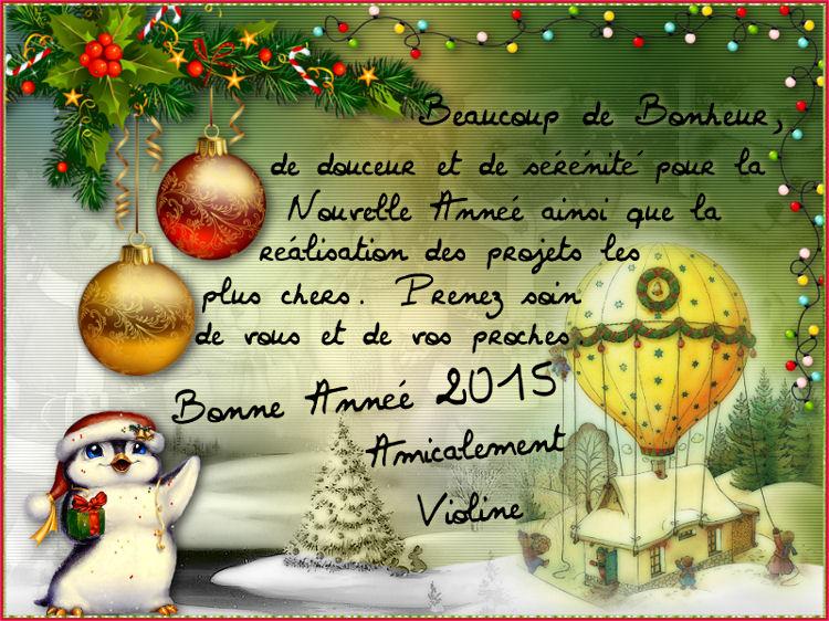 Des Cadeaux pour Noël , jour de l'An etc ...... 136073807575Voeux2015