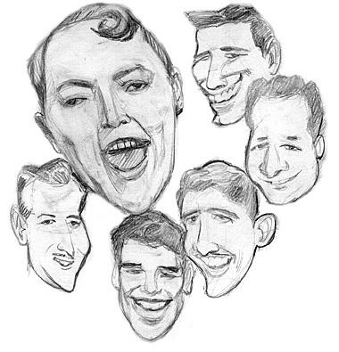Caricatures et dessins 136079Billhaley