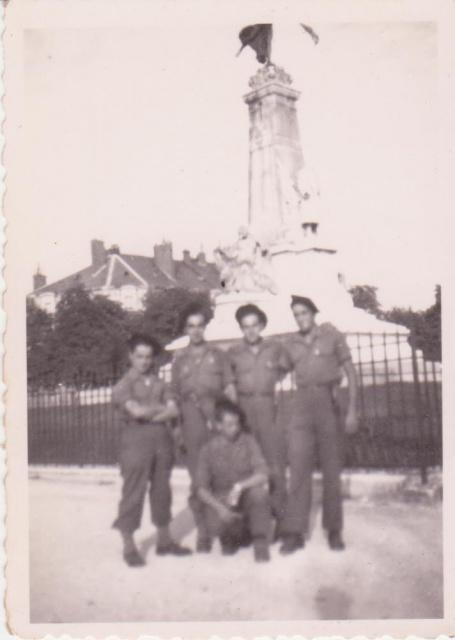 Le Bataillon de Choc 1943/1963. Photos. 136365Dijon1reCie