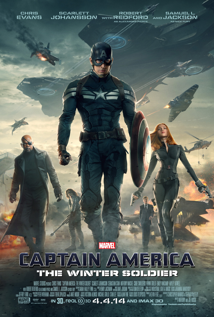 Franchise Marvel/Disney #3 137393CaptainAmericaTheWinterSoldier