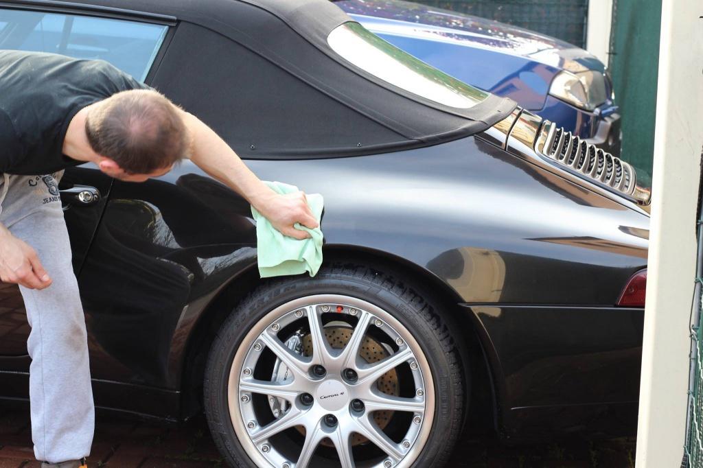 PORSCHE 993 Cabrio - Preparazione interna/esterna 1382010938