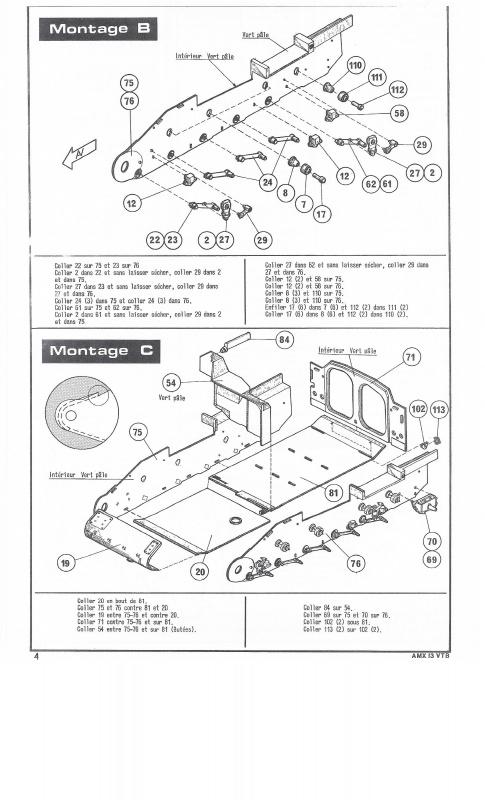 AMX 13 VTB - (Réf. L787) 1/35 138975VTB004