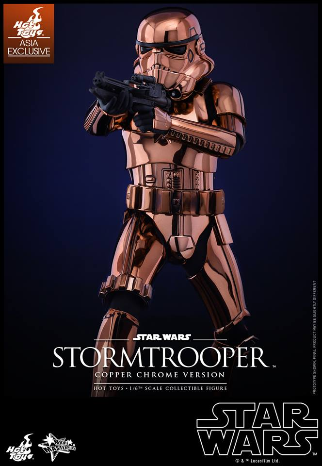 HOT TOYS - Star Wars: TFA - Stormtrooper Copper Chrome 140022103
