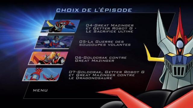 Collection des films Mazinger : les super-robots de Gô Nagaï. 140504PDVD001