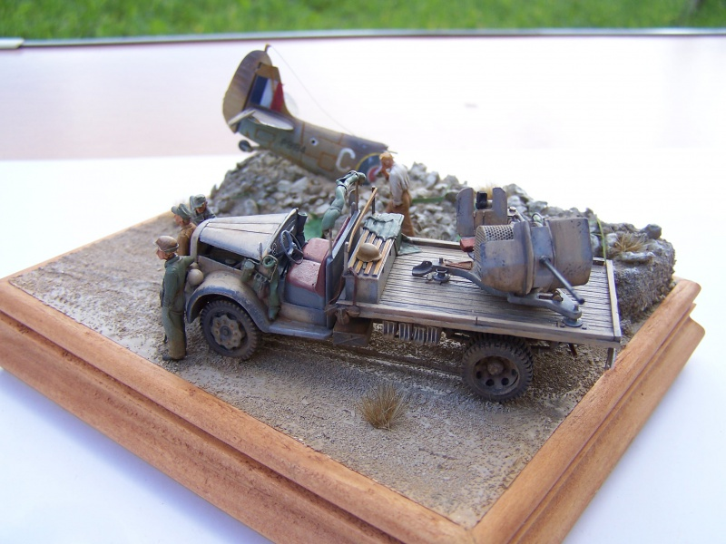 """""""Jabos Killer""""  Opel Blitz DCA Flak 38 1416431005820"""