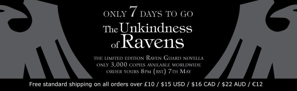 The Unkindness of Ravens de George Mann 1416517daystogo