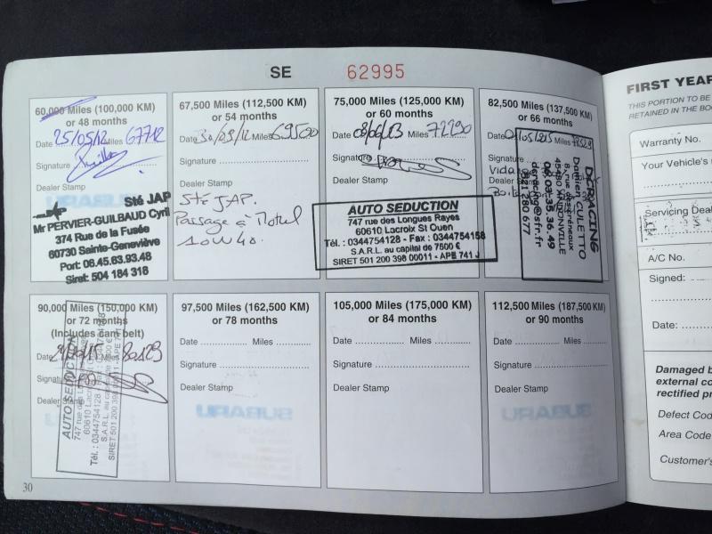 [VENDUE] Impreza P1 -13500 eur - 125k km 142225IMG3833