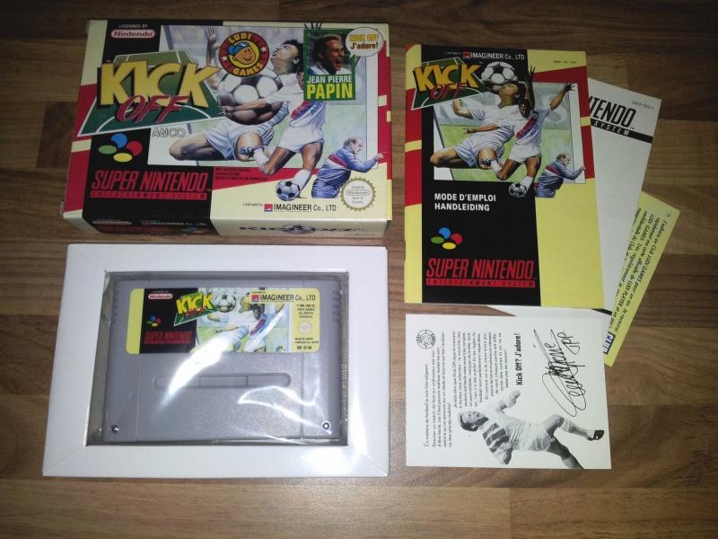 Prupru's Collection ! 100% Super Nintendo et 200% Super Comboy !! - Page 12 142822KickOff