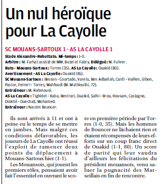 SCOC LA CAYOLLE // DHR - Page 20 144363714b