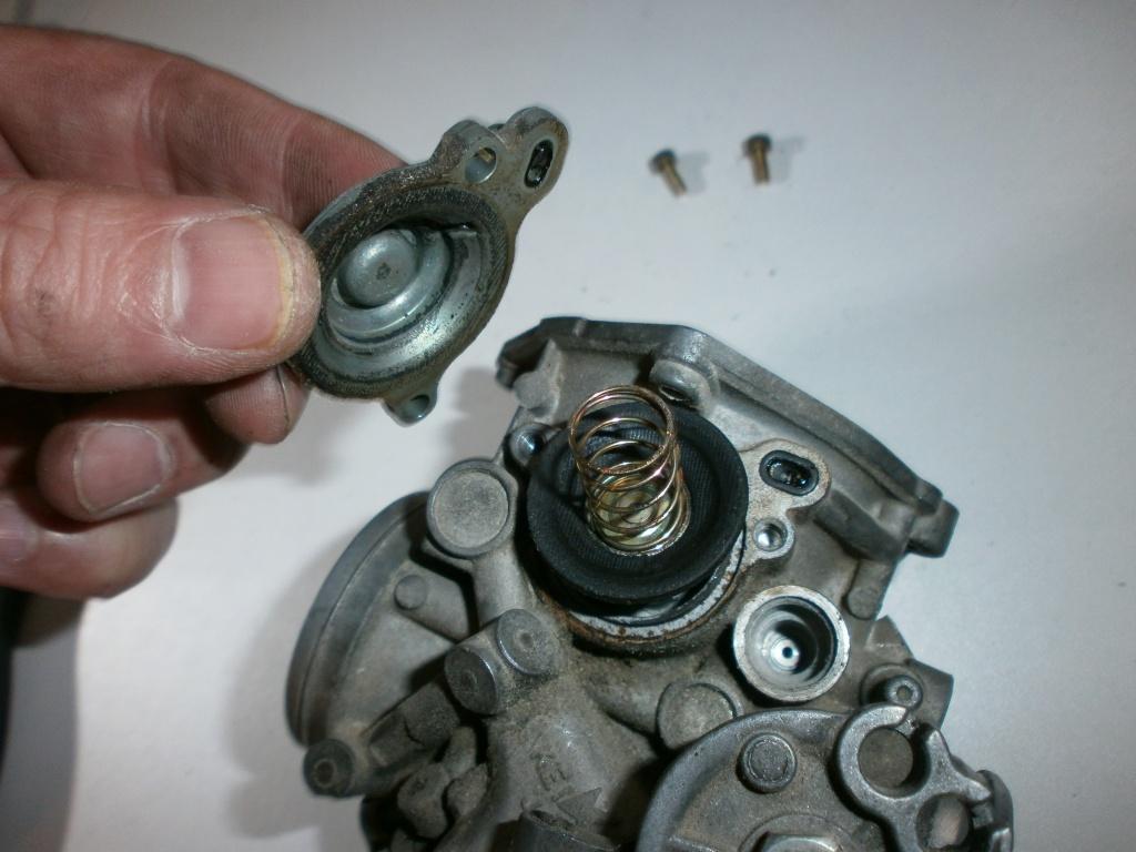 Nettoyage carburateurs de transalp 600 146788P1270020