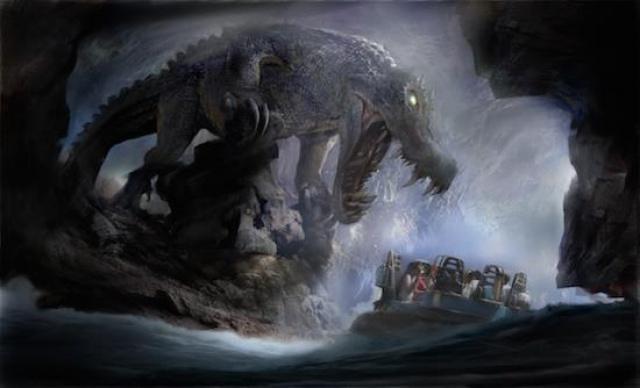 [Shanghai Disneyland] ADVENTURE ISLE (Soaring.../Roaring Rapids/Camp Discovery/Tarzan) 147244SD16