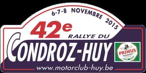 42e rallye du Condroz 147445Plaque2015rallyeduCondroz