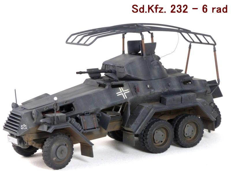 Sd.Kfz. 232 6 Rad - France 1940 - Italeri 1/35 147906P1040085