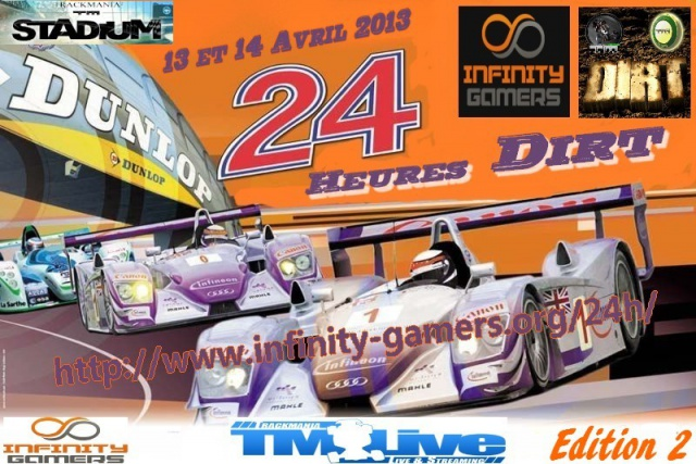 24H Infinity Dirt TM2 Stadium (édition2) 147929affiche24h22013
