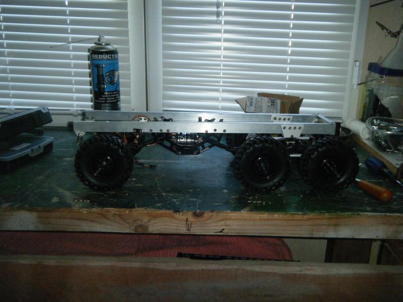 Mack 6x4 Monster Energy (FINI en attente d'un arceau) 147996DSCF2583