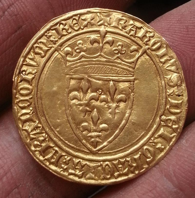 Ecu d'Or Charles VI 149299171