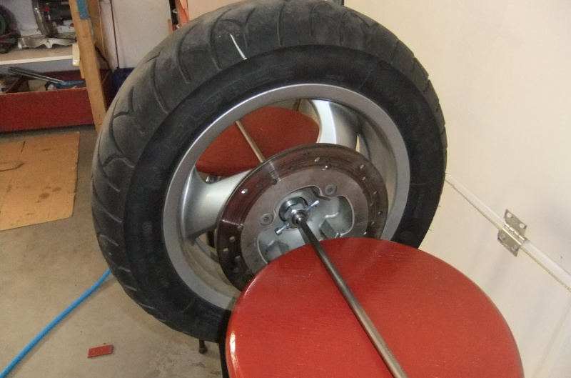 Manchon de centrage pour équilibrage de la roue AR 149912DSCF7857