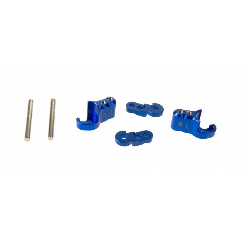 GPM Racing propose des pièces en aluminium / bielette de servo / pignon moteur 152115gpmsupportamortisseurarrierereglablealubleux2txm030b
