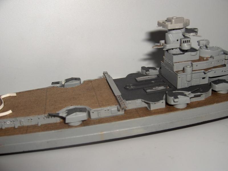 Bismarck 1/700 [Trumpeter] 153445HPIM2001