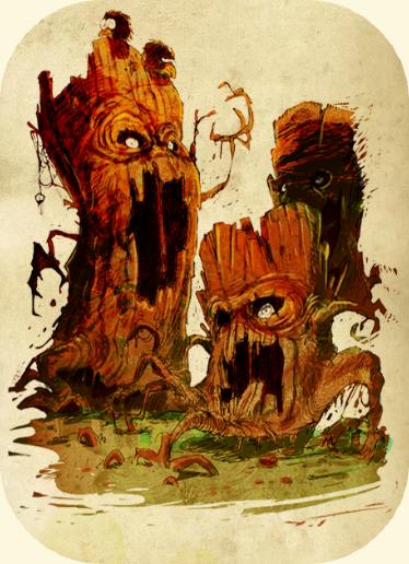 La Forêt des Abraknydes 153905397
