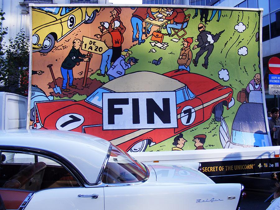 """Bruxelles côté BD  """"Tintin en automobile"""" - Page 2 157462DSCF6294"""