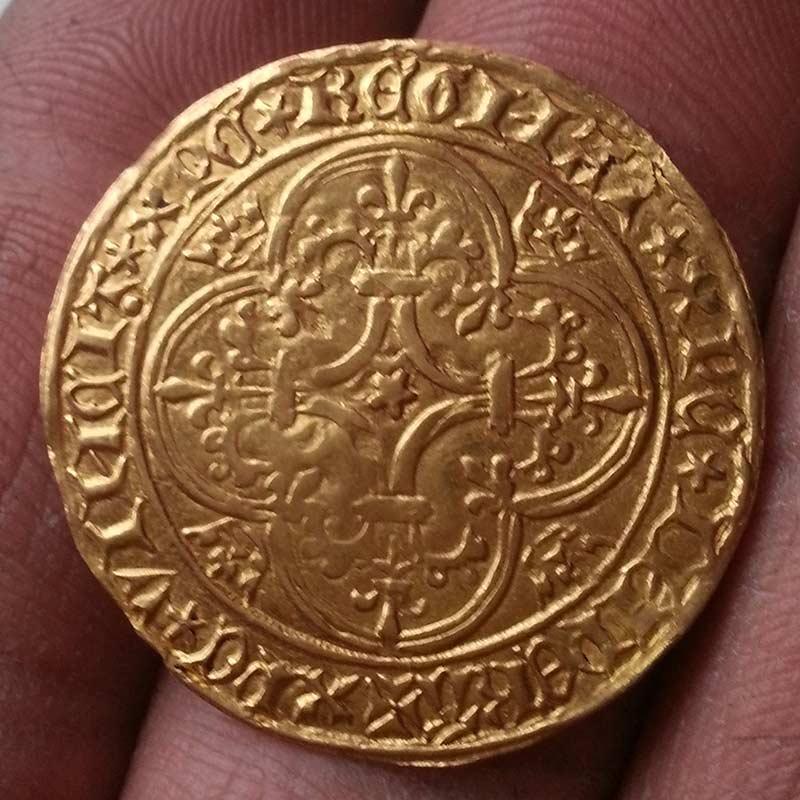 Ecu d'Or Charles VI 157913722
