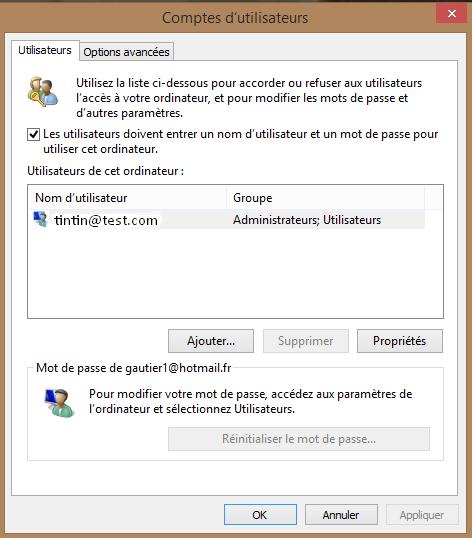 Ne plus avoir le mot de passe au démarrage de Windows  8.1 et 10 158854dsactivermotdepassew82