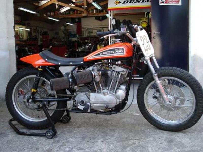 Harley de course 160981HarleyDavidsonXR750